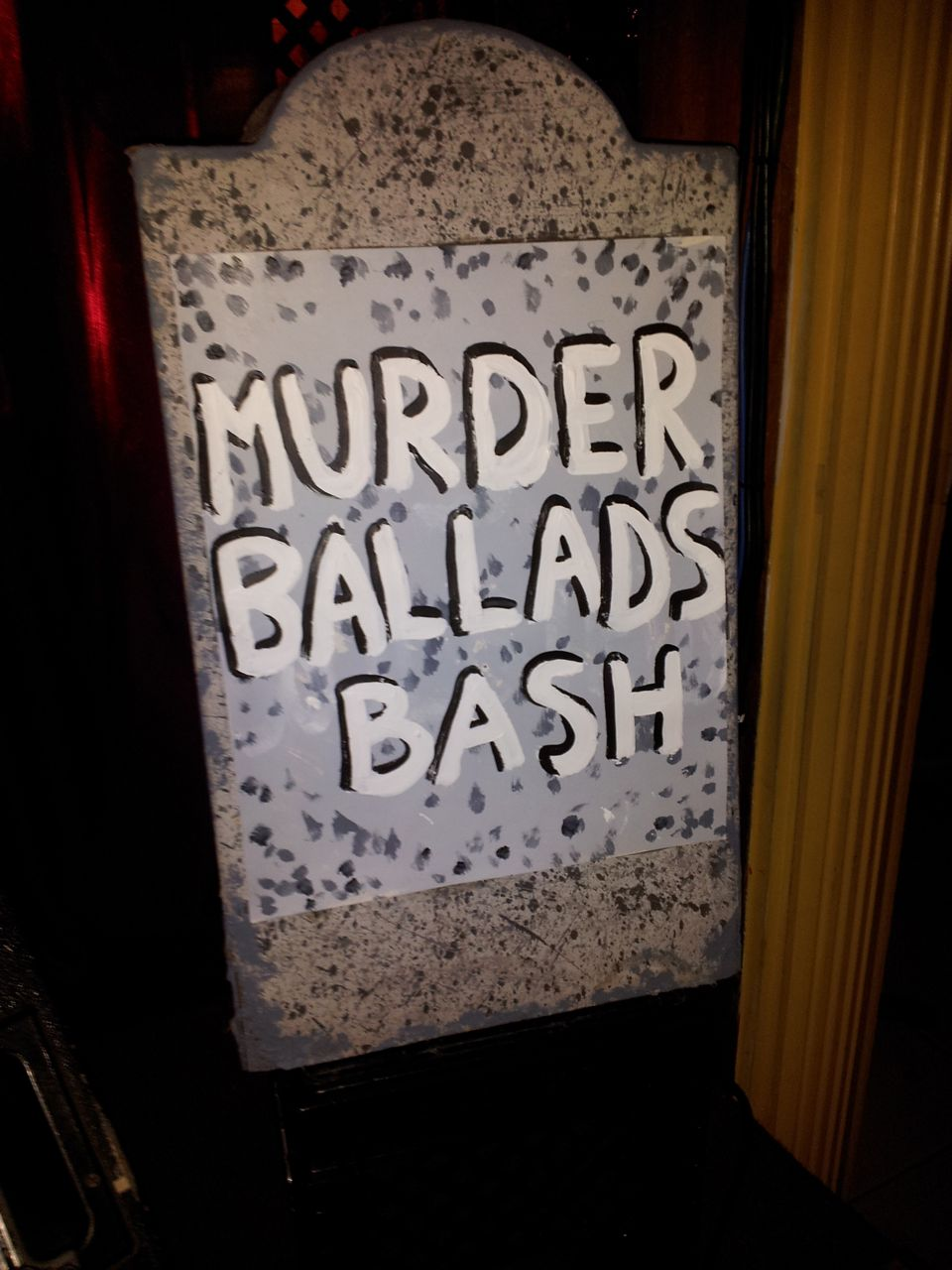 Murder Ballad Bash 1