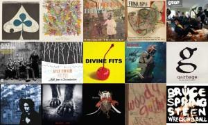collage of album covers