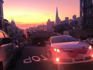 Lyft in SF