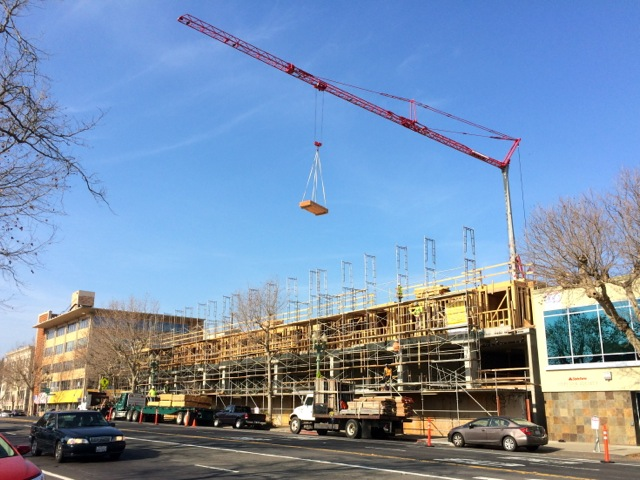 construction crane in Oakland